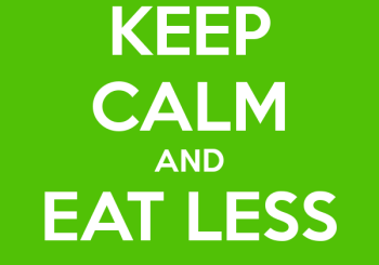 keep-calm-eat-less-meat-white-green-poster