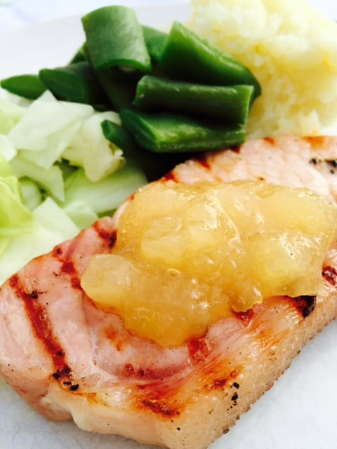 bacon-chops-with-apple-sauce