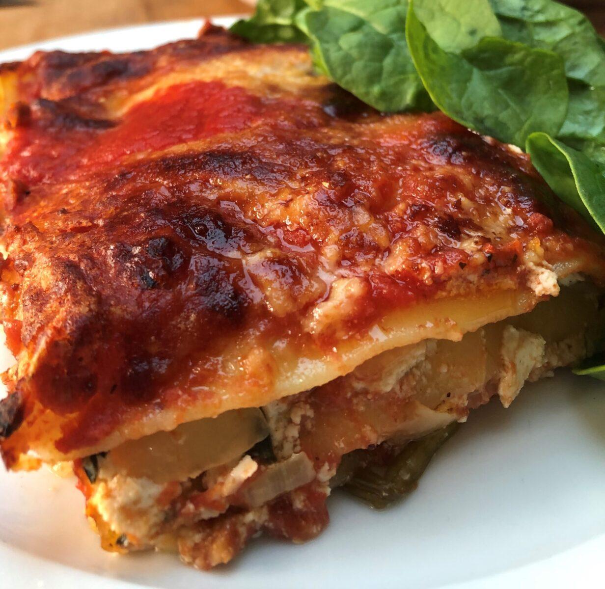 mediterranean-vegetable-lasagna-cheese-crust