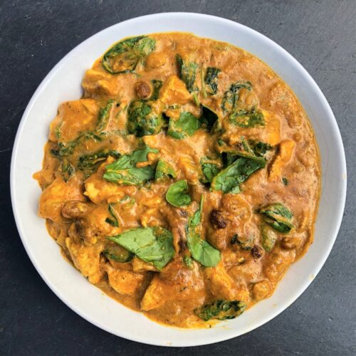 chicken-korma-spinach-yoghurt