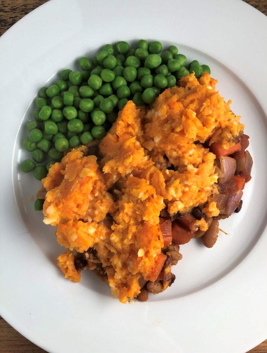 vegetarian-cottage-pie-sweet-potato-mash